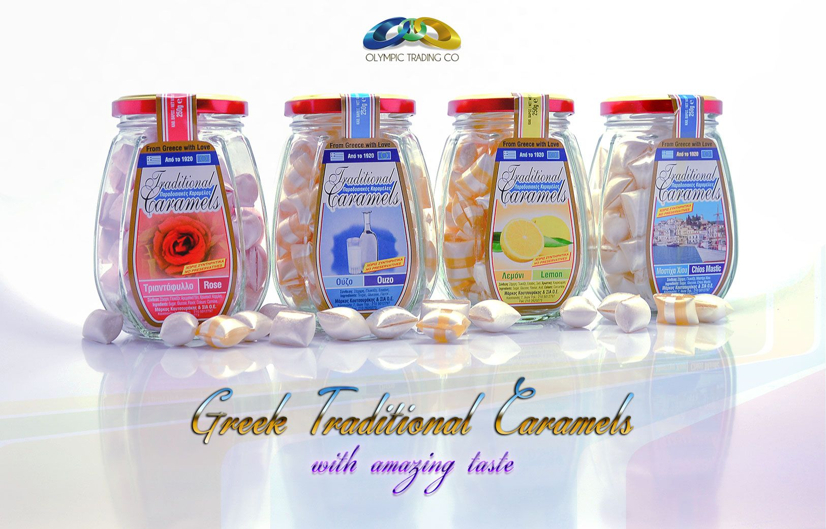 Candies. Greek Traditional Caramels